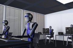 роботы Стоковое Изображение RF