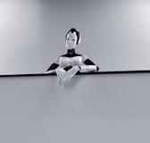 робот афиши Стоковая Фотография RF