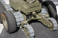 робот бомбы Стоковая Фотография RF