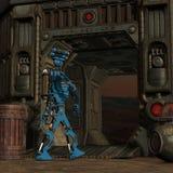 Робот Мультяшки Стоковые Изображения