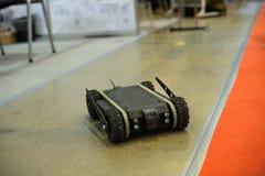 Робот наземных разведок развитый украинскими дизайнерами Стоковые Фотографии RF
