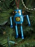 Робот орнамента рождества Стоковые Фотографии RF