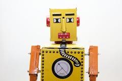 Робот портрета. Стоковые Изображения