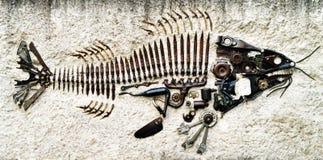 робот рыб стоковое фото