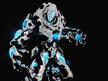 робот сражения Стоковое Изображение