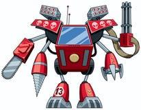 Робот убийцы иллюстрация вектора