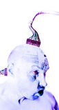 робот человека cyborg Стоковые Фотографии RF
