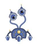 робот шаржа Стоковые Фото