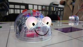 Робот для детей дошкольного возраста Стоковая Фотография