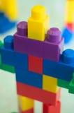 робот 02 блоков Стоковое Изображение RF