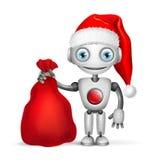 робот santa claus бесплатная иллюстрация