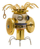 Робот Steampunk Стоковое Изображение