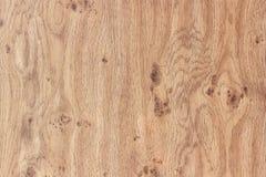 Ровная деревянная залакированная поверхность Естественная деревянная картина Стоковая Фотография RF