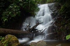 Ровное движение водопада Стоковое фото RF