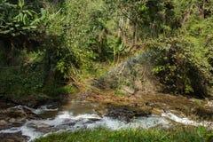 Ровное движение водопада Стоковое Изображение RF