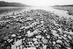 ровные камни Стоковая Фотография
