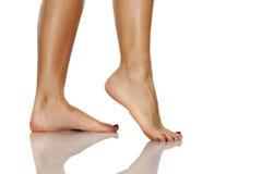 Ровные ноги и ноги стоковые изображения