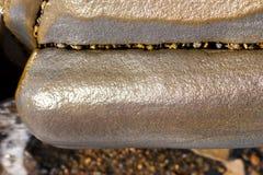 Ровный влажный камень стоковое изображение