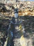 Ров с бетонированными стенками Стоковое Фото