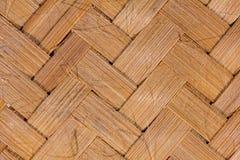 рогожка бамбука предпосылки стоковое фото