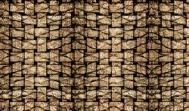 Рогожка текстуры расшивы пальмы стоковые изображения