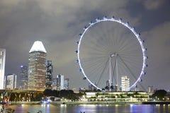 Рогулька Сингапура гигантское колесо ferris Стоковое фото RF