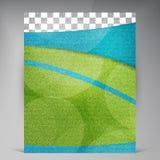 Рогулька вектора красивая зеленая Стоковое Изображение