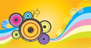 Рогулька партии музыки Стоковые Фотографии RF