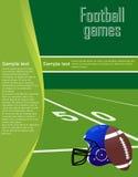 Рогулька футбола Стоковая Фотография RF