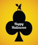 Рогулька хеллоуина иллюстрация штока