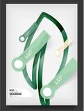 Рогулька, шаблон дизайна брошюры Стоковое Фото