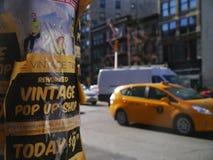Рогульки в Нью-Йорке Стоковое Фото