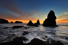 родео пляжа стоковая фотография rf