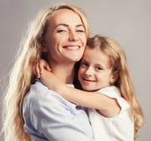 Родитель с ребенк Стоковая Фотография