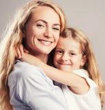 Родитель с ребенк Стоковые Фото