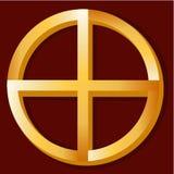 родной символ духовности Стоковое Изображение RF