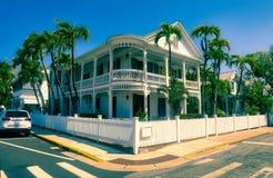 Родовая архитектура Key West Стоковые Фотографии RF