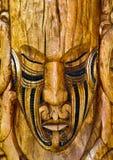 родовая доска маорийская Стоковое Фото