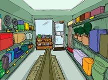 родовой магазин оборудования Стоковое Изображение RF