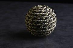 Родовой шарик натюрморта пряжи стоковое фото rf