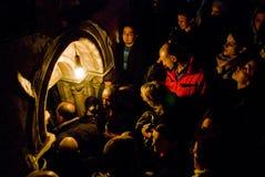 рождение jesus Стоковые Фотографии RF