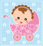 рожденный младенец Стоковые Фото