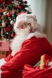 Рожденственская ночь Санта Клауса стоковые изображения