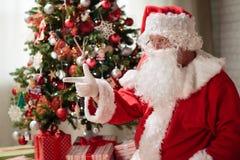 Рожденственская ночь Санта Клауса стоковая фотография rf