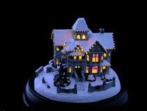 Рожденственская ночь стоковые изображения