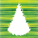 рождества вал swirly Стоковое Фото