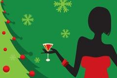 рождественская вечеринка Стоковые Изображения