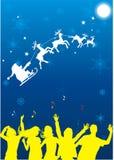 рождественская вечеринка иллюстрация вектора