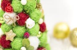 Рождественская елка, декоративная рождественская елка Новый Год украшений рождества Обои Нового Года и рождества Стоковые Изображения