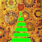 рождественская елка искусства иллюстрация вектора